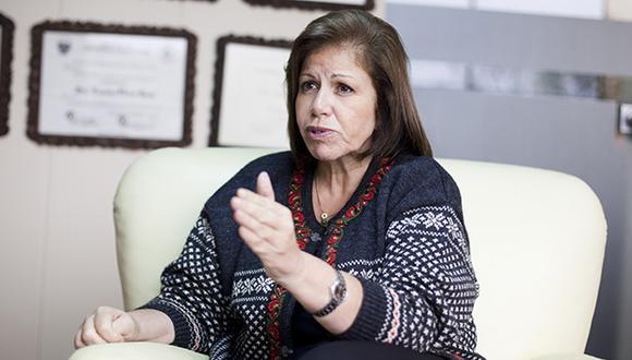 """Lourdes Flores consideró que el referéndum debe realizarse tras una """"larga y necesaria"""" discusión en el Parlamento, puesto que hacerlo este año """"sería una precipitación"""". (Foto: El Comercio)"""
