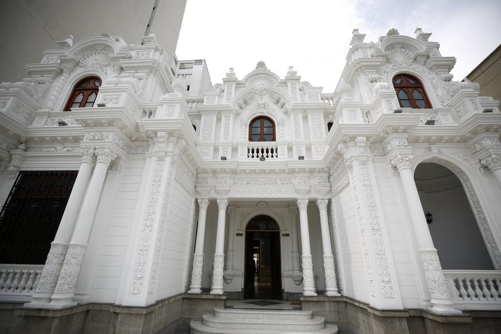La fachada de la Casa Suárez es muy similar a Palacio de Gobierno (Piko Tamashiro/Perú21).