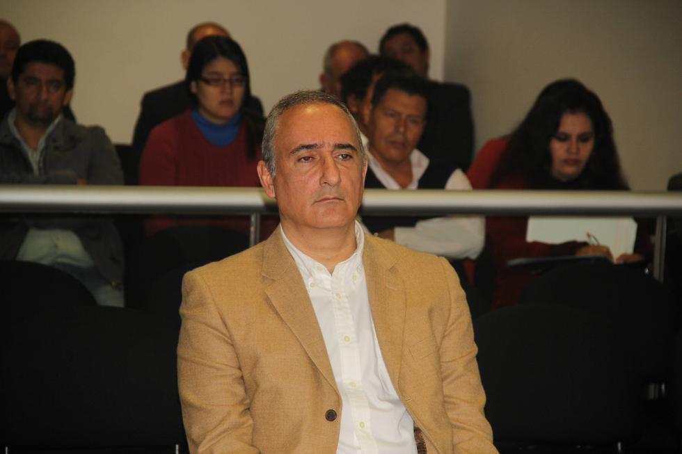 El ex alcalde del Callao, Álex Kouri, cumple cinco años de prisión por delitos de corrupción. (Poder Judicial)