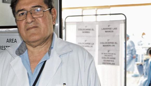 Juan Enrique Machicado Zuñiga, director del hospital Arzobispo Loayza, renunció.