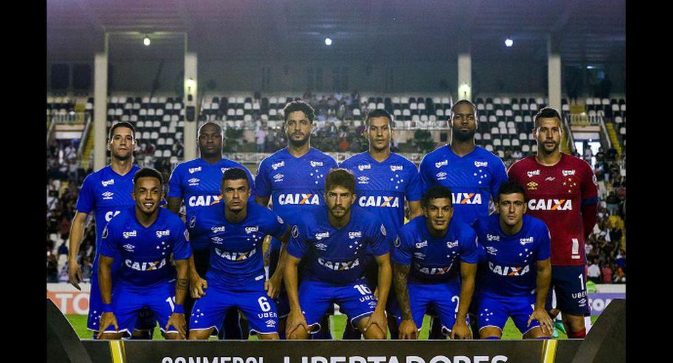 Este fue el once de Cruzeiro que arrancó el compromiso. (Getty Images)