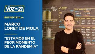 """Marco Loret de Mola: """"Estamos en el peor momento de la pandemia"""""""