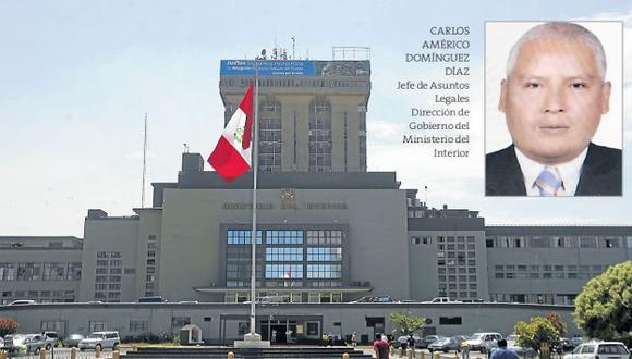 VIVIENDO CON EL ENEMIGO. Su presencia en el sector Interior debería llamar la atención de otros ministerios. (Rochi León)