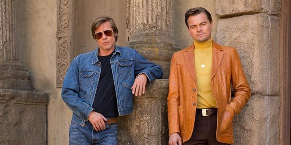 """Brad Pitt y Leonardo DiCaprio dan vida a Rick y Cliff, personajes principales de """"Once Upon a Time in Hollywood"""". (Foto: @onceinhollywood)"""