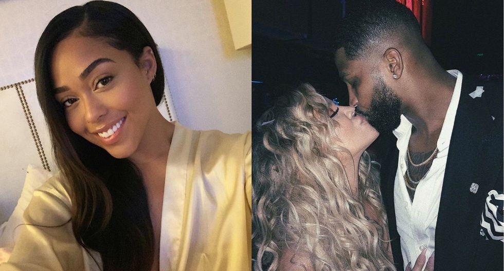 La modelo Jordyn Woods confesó que sí besó a Tristan Thompson, pareja de Khloé Kardashian. (Foto: Instagram)