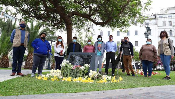 Los jóvenes fallecieron hace un mes en el Centro de Lima. (Fotos: Alessandro Currarino / @photo.gec)