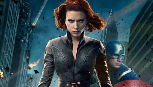 Scarlett Johansson - Los Vengadores. (Internet)
