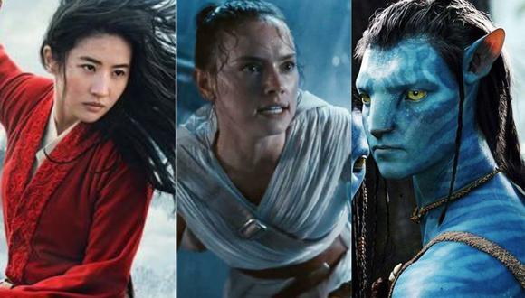 """Disney pospone sus grandes estrenos: """"Mulan"""", """"Star Wars"""" y """"Avatar"""". (Foto: Composición/Disney)"""