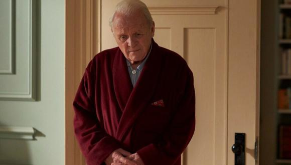 "Anthony Hopkins en ""The Father"", película nominada al Oscar 2021."