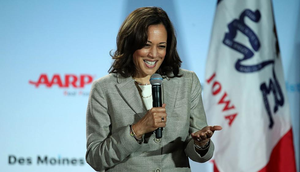 Kamala Harris, precandidata demócrata a la presidencia de Estados Unidos, se unió al representante Jerry Nadler, demócrata de Nueva York, en un proyecto de ley que busca legalizar la marihuana. (Foto: AFP)