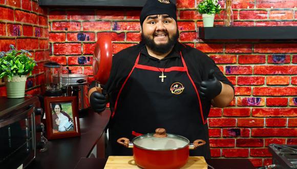 El 'Gordichef' es conocido por compartir en redes videos de sus divertidas y deliciosas recetas. (Ají Causa)