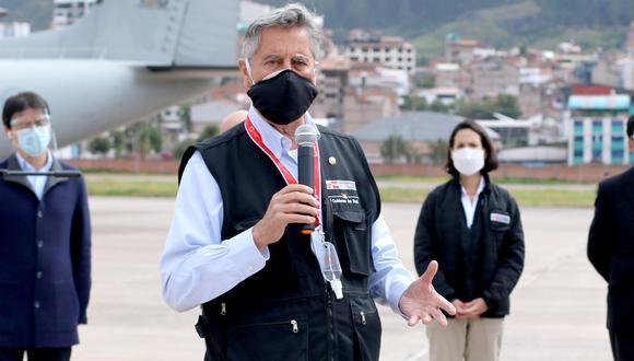 Congresistas advirtieron de su intención de promover una moción de vacancia contra Francisco Sagasti. (Foto: Juan Sequeiros)