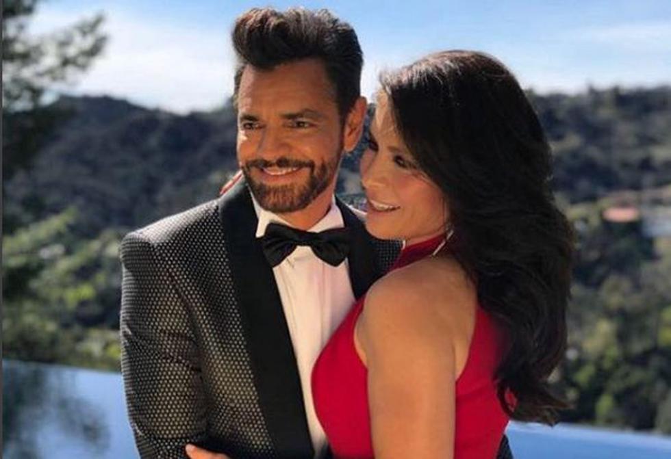 El actor y director mexicano lució muy emocionado a su salida a la escena del en el Dolby Theatre de Los Ángeles. (Instagram/@eugenioderbez)