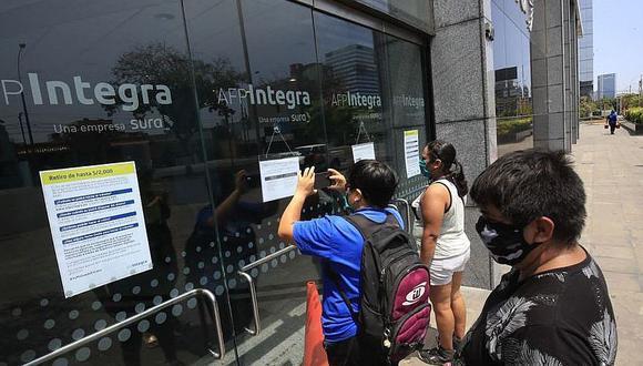 El cronograma de la Asociación de AFP llegó a su fin el viernes 08 de enero de 2021 con las personas cuyo último número de DNI termina en 9 (Foto: Andina)