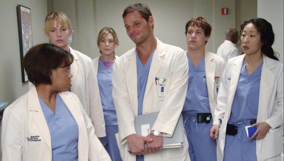 Meredith, Alex, George, Izzie y Cristina fueron los cinco pasantes principales y se convirtieron en los favoritos del público (Foto: ABC)