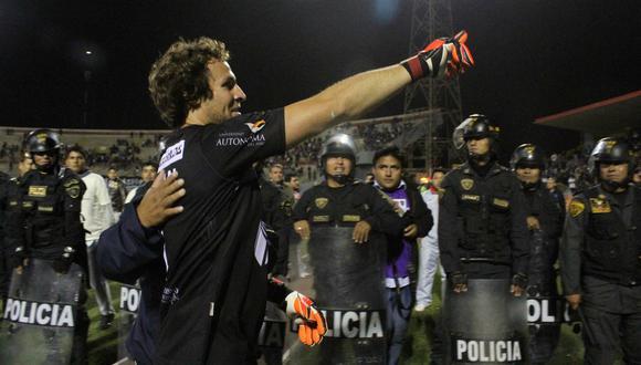 Salomón Libman y Giancarlo Carmona anotaron los goles del compromiso válido por la fecha 12 del Clausura. (EFE)