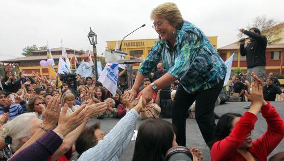 Es la preferida por los chilenos para la segunda vuelta electoral. (EFE)