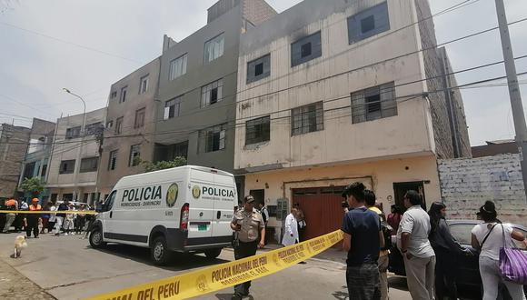 Asesinó a su expareja, a su hija recién nacida y a menor de 15 años dentro de la casa donde estos vivían en El Agustino. (Foto: ANDINA/Renato Pajuelo)