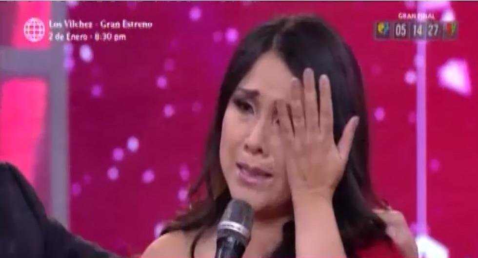 """Tula Rodríguez llora al señalar cómo pasará esta Navidad: """"Quisiera tener a mi esposo al lado"""" (Foto: Captura de pantalla)"""