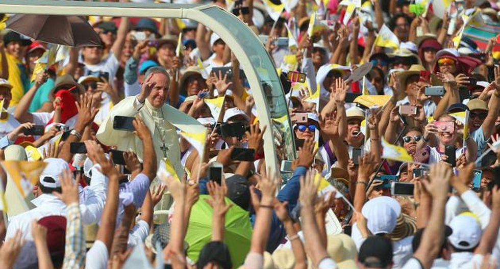 El Sumo Pontífice se fue alegre del Perú. (Geraldo Caso)