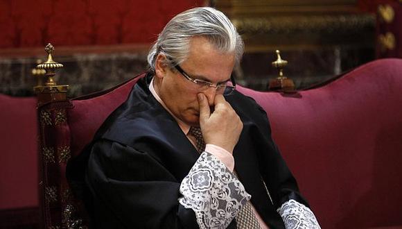 Baltasar Garzón fue condenado por ordenar escuchas telefónicas en el caso Gürtel. (Reuters)
