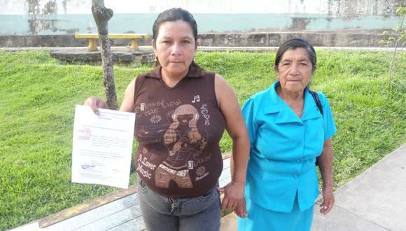 Petronila se ratificó en su acusación contra Santos y solo espera el juicio oral para encararlo. (Difusión)