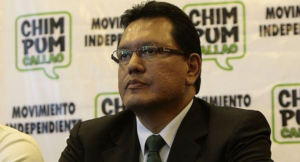 Félix Moreno en la mira. (Rafael Cornejo)