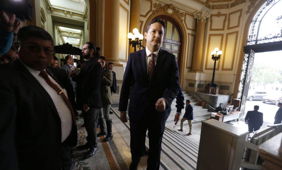 El presidente del Congreso, Daniel Salaverry, señaló que cualquier ciudadano tiene derecho a un debido proceso de investigación. (Foto: GEC)