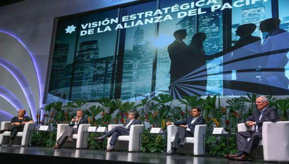 La Alianza del Pacífico fue creada en abril de 2011 y formalizada en julio de 2012. (Presidencia del Perú)