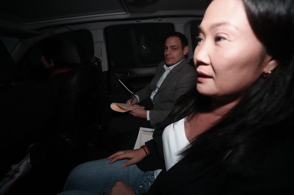 """""""Hemos reiterado hoy queja ante la OCMA y mi esposo Mark se ha reunido con el defensor del Pueblo"""", señaló Fujimori Higuchi. (Renzo Salazar)"""