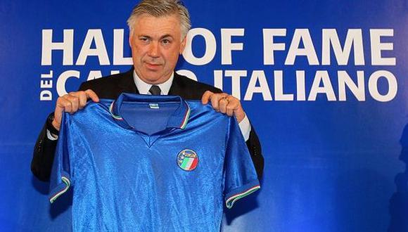 Carlo Ancelotti fue elegido mejor entrenador de Italia del 2014. (Elcomercio.pe)