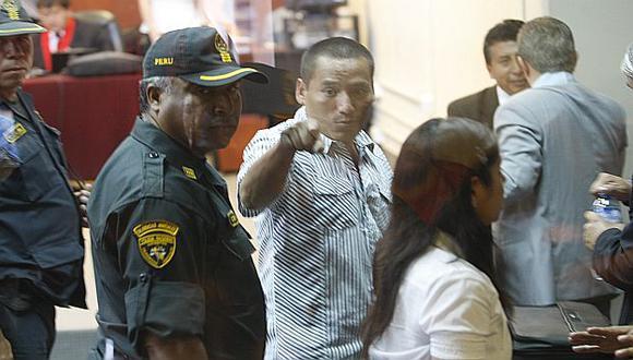 Pedro Mamanchura durante audiencia en el penal de Lurigancho.  (USI)