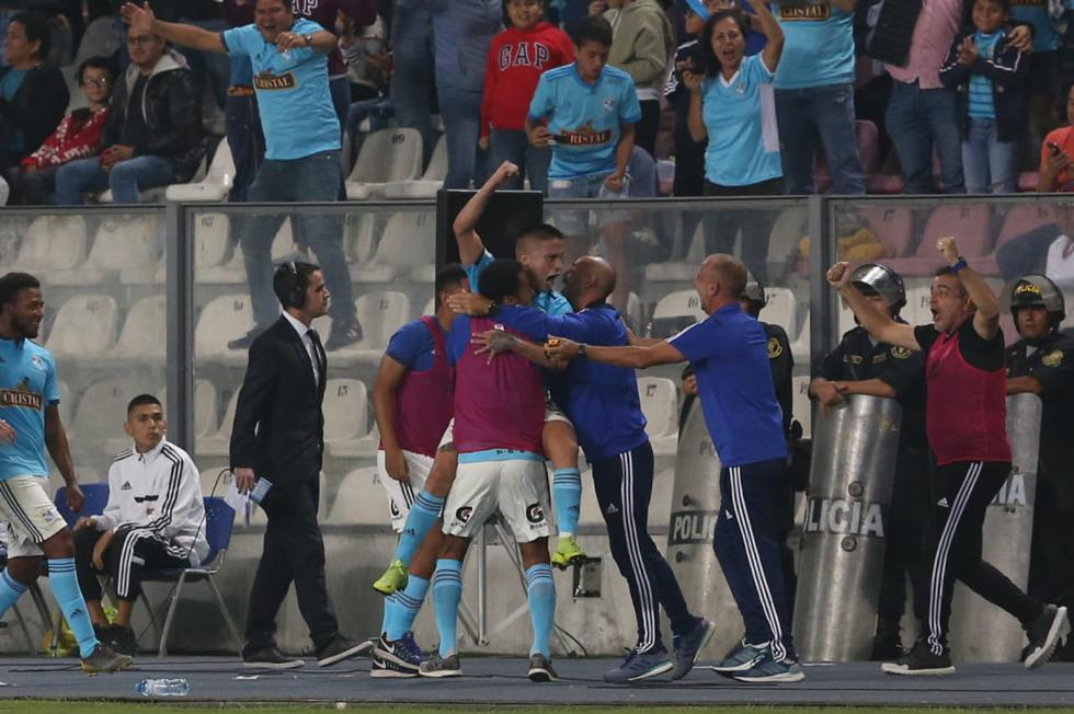Sporting Cristal vs. Universitario por la Liga1. (Foto: Violeta Ayasta/ GEC)