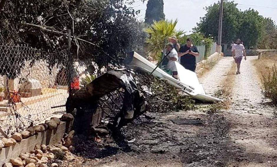 Un accidente aéreo entre una helicóptero y una avioneta dejó 5 muertos, en Mallorca. (Foto: EFE)