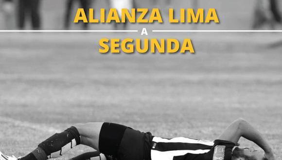 Alianza Lima cayó ante Sport Huancayo y perdió la categoría en la Liga1.