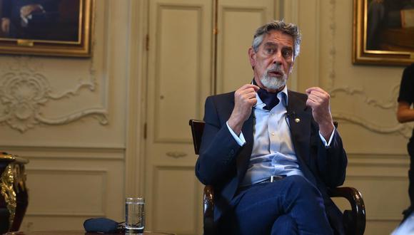 Francisco Sagasti completó el periodo 2016-2021 luego de que sus antecesoras abandonaran el cargo bajo diferentes circunstancias. (Foto: El Comercio)