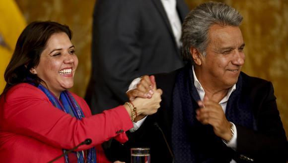 Lenín Moreno impulsó el referendo que lo enfrentó con Rafael Correa (Efe).