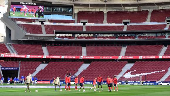 Atlético de Madrid, Inter de Milán y AC Milan confirmaron su alejamiento de la Superliga Europea. (Foto: AFP)