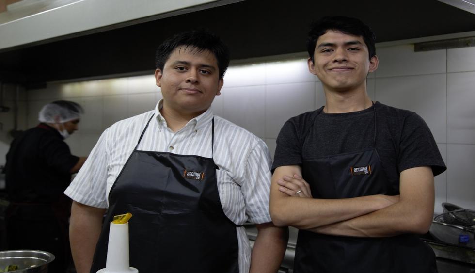 Alexander y Elías son los creadores del portal gastronómico más grande del país. (Foto: GEC)