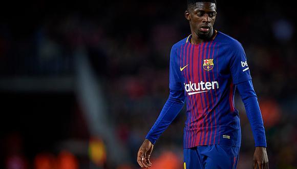 Ousmane Dembélé no ha tenido un buen paso en Barcelona. (Getty Images)