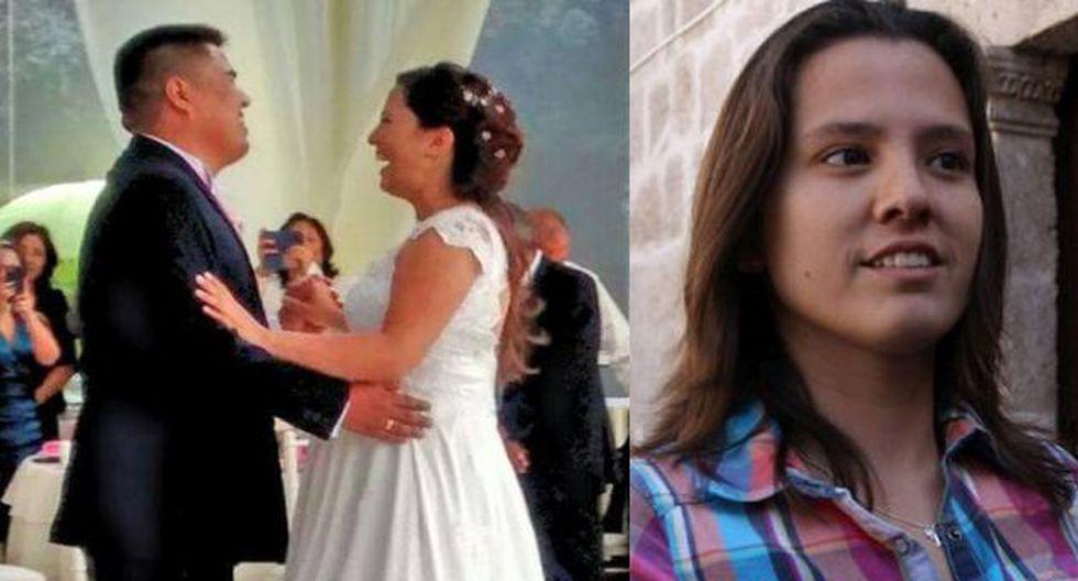Rosario Ponce López, ex pareja de Ciro Castillo, se casó con hijo de su abogado. (Facebook)