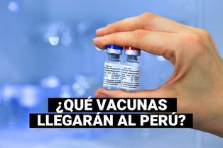 COVID-19: estas son las primeras vacunas que llegarían a Perú