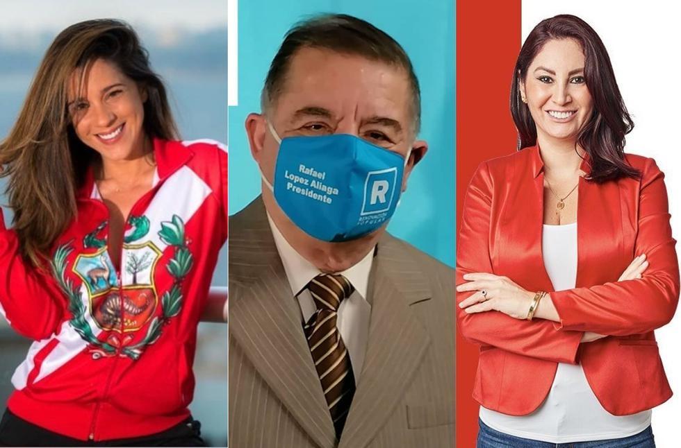 El 11 de abril se realizó las elecciones generales 2021, que tiene a Pedro Castillo (Perú Libre) y Keiko Fujimori (Fuerza Popular) como candidatos a segunda vuelta, según resultados de la ONPE. ¿Y a nivel congresal? ¿Cuáles son las personalidades peruanas que obtuvieron una curul en el Congreso? (Foto: @vanessaterkes/@efrainaguilar/anethacosta)