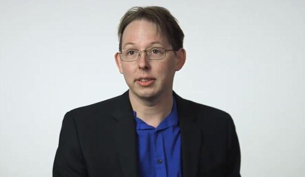 Jason Wright, de la Universidad estatal de Pensilvania, publicó la hipótesis de las megaestructuras alienígenas. (YouTube/Breakthrough)