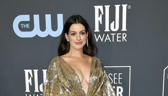 Anne Hathaway ha revelado por que odia tanto su nombre artístico (Foto:  Frazer Harrison/Getty Images/AFP)