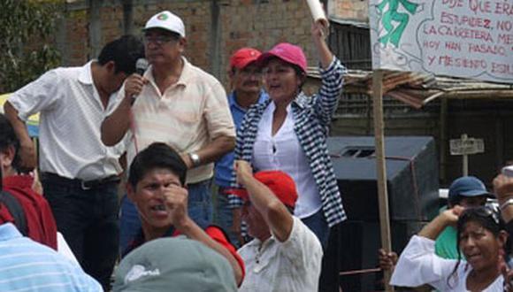 Alcaldesa lideró movilización. (Difusión)