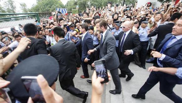 Beckham desata pasiones. (Reuters)