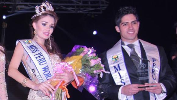 Por primera vez, se elegió también al Mister Perú Mundo en el mismo certamen. (Difusión)