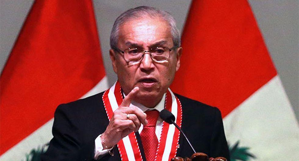 Pedro Chávarry anunció la remoción de otra fiscal en el Callao. (Foto: Agencia Andina)