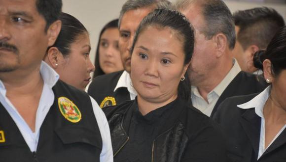 Keiko Fujimori fue atendida por un cardiólogo. (Foto: GEC)